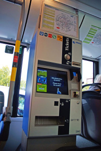 Fahrkartenautomat Solaris Urbino MVG München