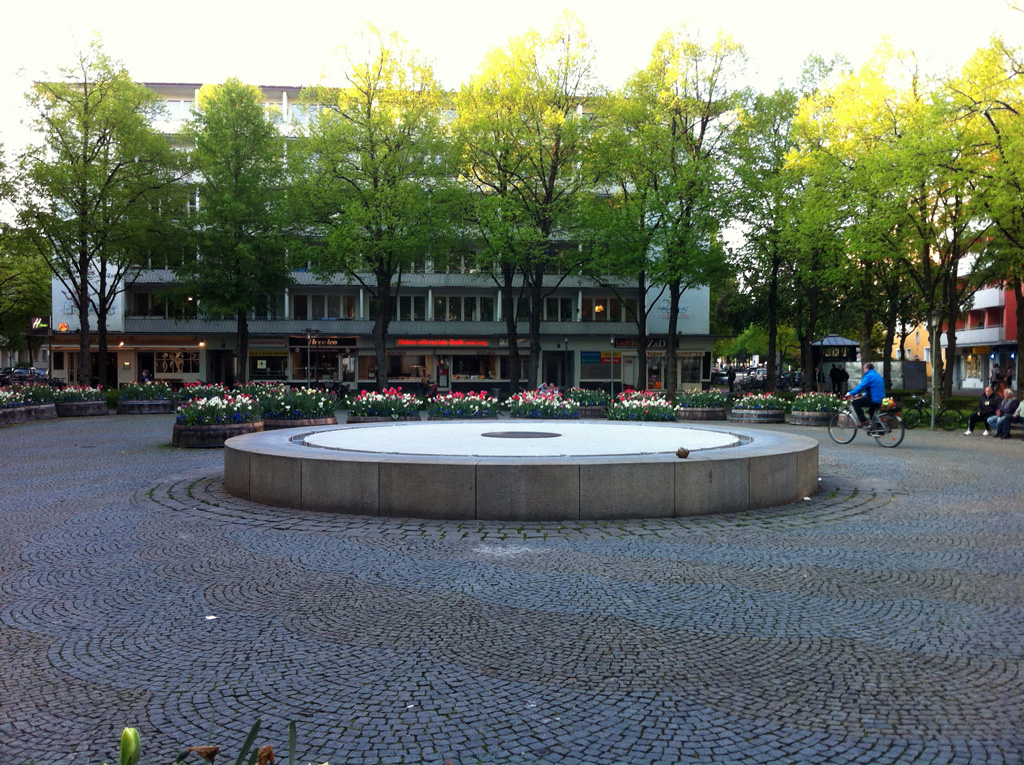 Brunnen am Hohenzollernplatz