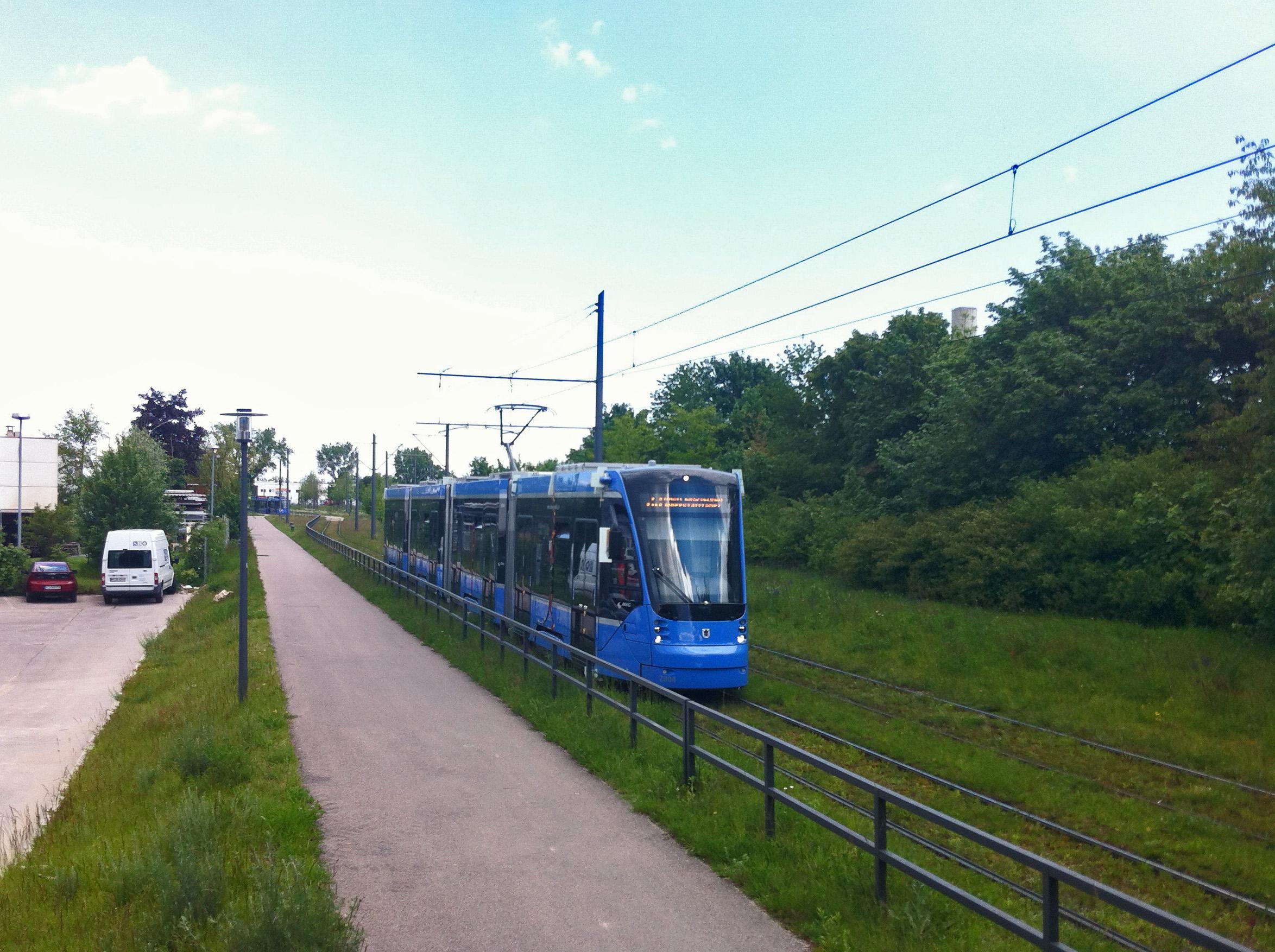 Siemens Avenio verlässt Schwabing Nord