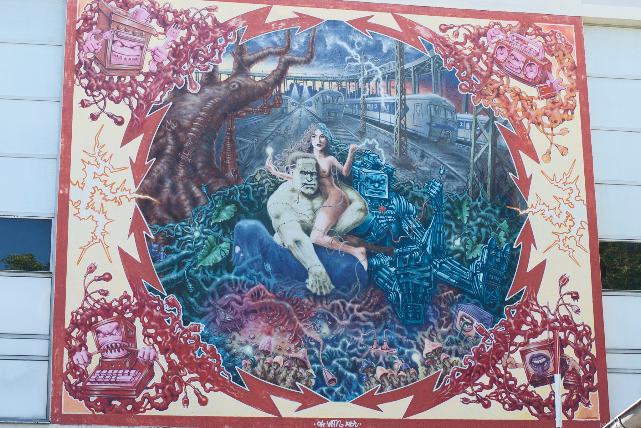 Kunst am SWM Umspannwerk Elisabethplatz