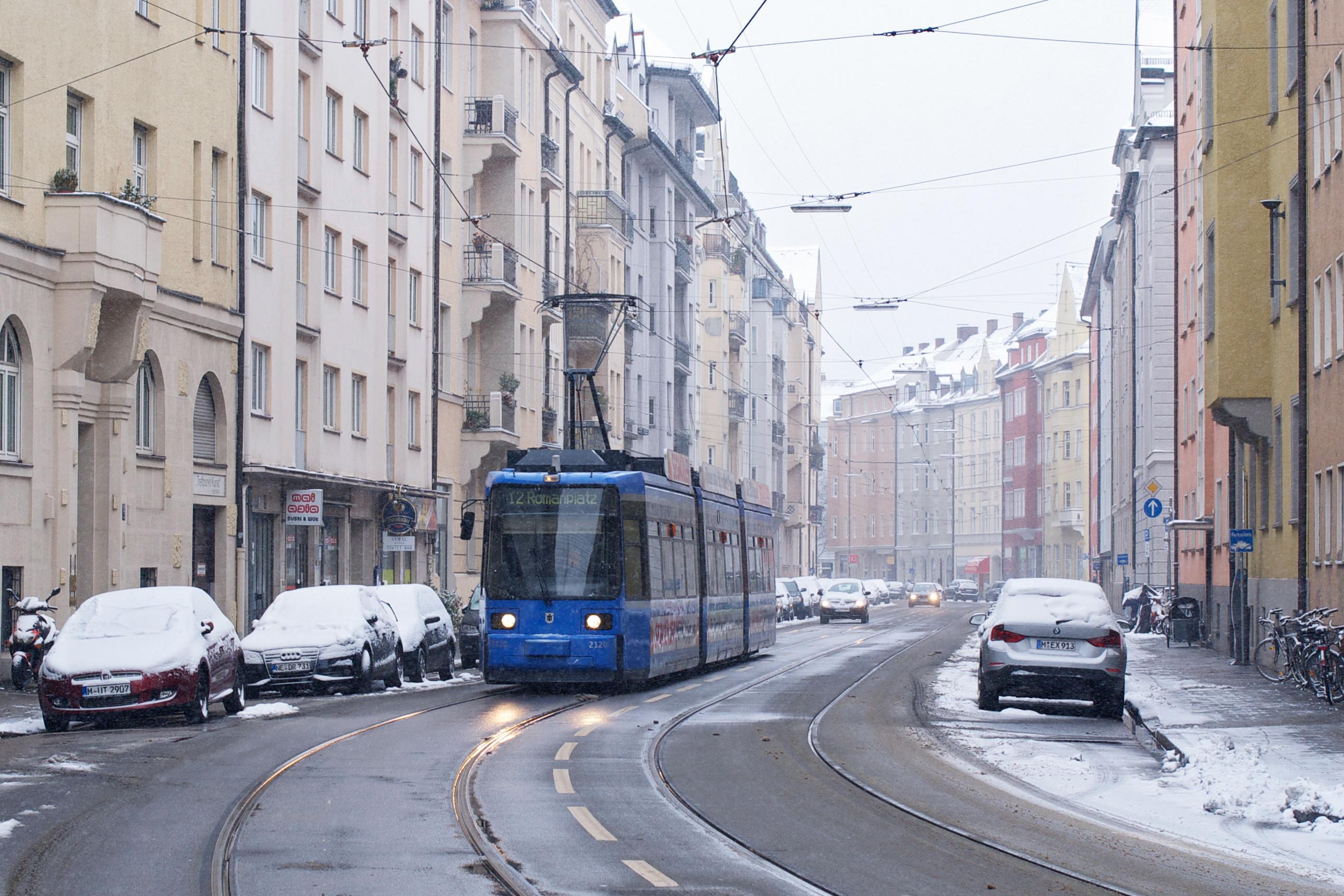 R2.2 in der Hohenzollernstraße